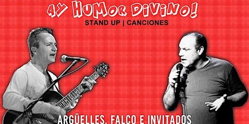 Ay Humor Divino | Stand Up y Canciones de Humor en el Teatro Brown de La Boca