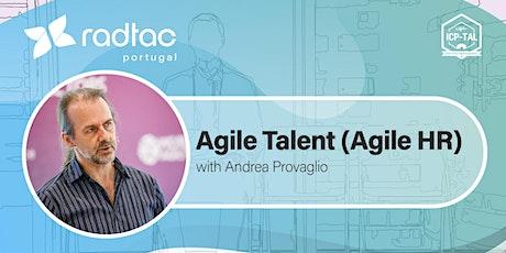 Agile Talent (ICP-TAL)® bilhetes