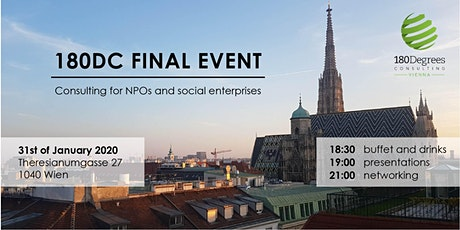 Final Event - 180 Degrees Consulting Vienna Tickets