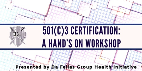 501(c)(3) Certification: A Hand's On Workshop tickets