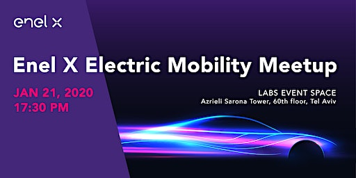 Enel X electric mobility meetup