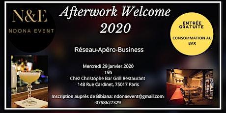 Afterwork Welcome 2020 billets