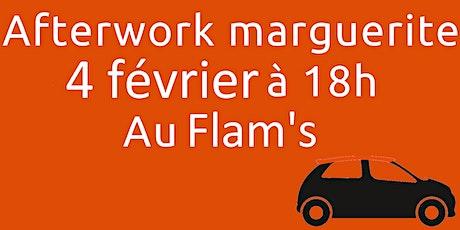 Afterwork marguerite chez Flam's billets