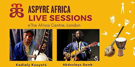 Aspyre Africa Live Sessions tickets