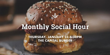 January Social Hour at The Capital Burger! tickets