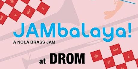 JAMbalaya! Brass Monkeys, Brass Queens, and Flowmingos tickets