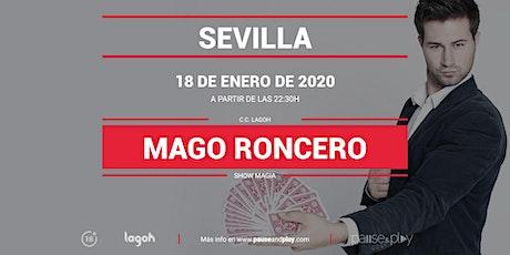 Show Magia Mago Roncero en Pause&Play Lagoh entradas