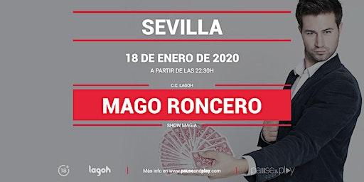 Show Magia Mago Roncero en Pause&Play Lagoh