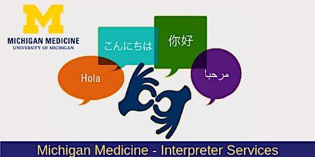 Mental Health Interpreting-Session 3 tickets