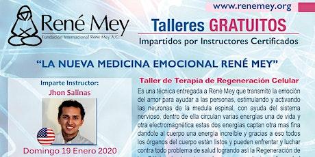 Enero 19 Miami Talleres Tecnicas Medicina Emocional Rene Mey entradas