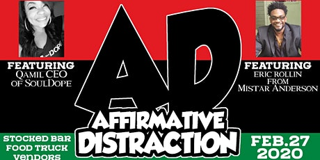 Affirmative Distraction ft Qamil and Eric Rollin tickets