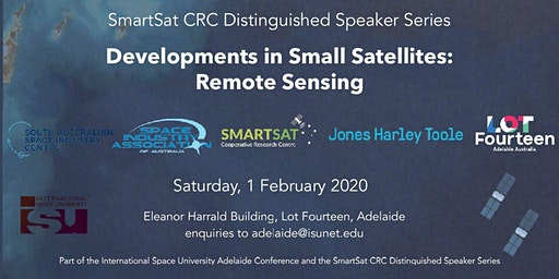 SmartSat CRC Distinguished Speaker Series: Developments in Remote Sensing