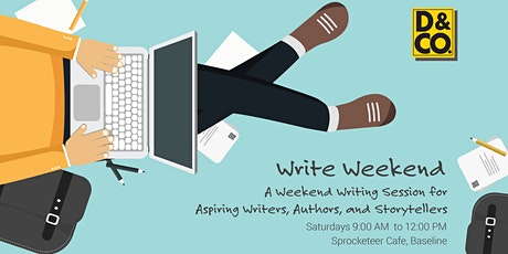 Write Weekend tickets