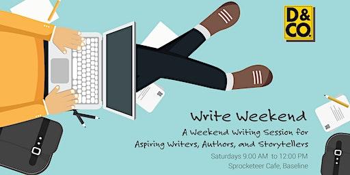 Write Weekend