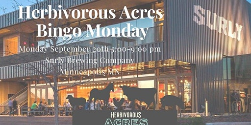 Herbivorous Acres Bingo Monday