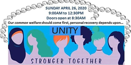 6th ANNUAL WOMEN IN RECOVERY BRUNCH: UNITY