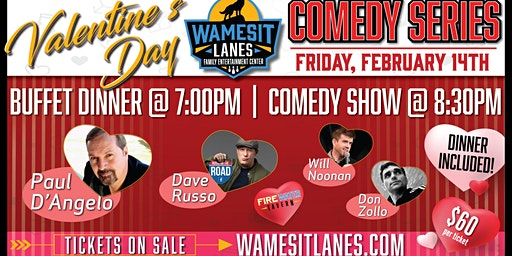 Dinner and Comedy Show with Paul D'Angelo, Dave Russo and More!