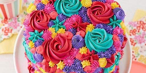 Mother's Day Floral Cake Decorating Workshop