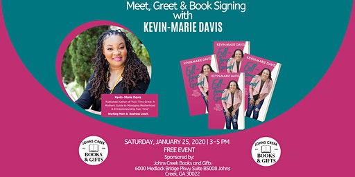 Meet, Greet & Book Signing with Kevin-Marie Davis
