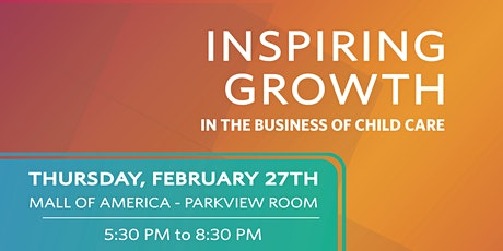 Inspiring Growth in the Business of Child Care tickets