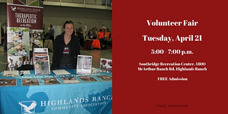 Volunteer Fair tickets
