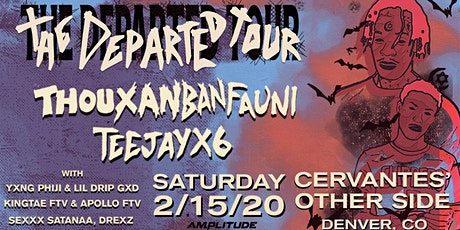 Thouxanbanfauni x Teejayx6 - The Departed Tour w/ Special Guests tickets