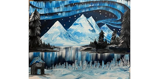 Winter Scenery Canvas Painting Workshop- Buford