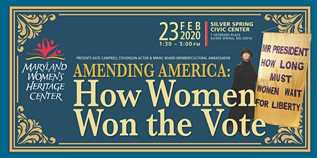 Amending America: How Women Won the Vote tickets