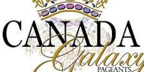 Canada Galaxy Pageants - Windsor delagates fundraiser dinner tickets