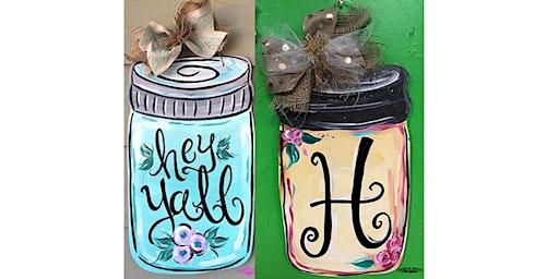 Mason Jar Doorhanger Workshop- Buford