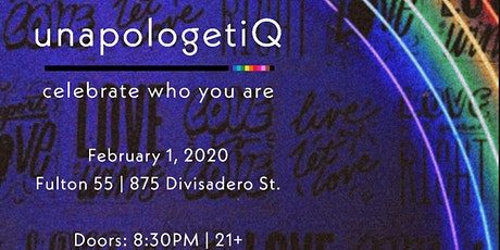 unapologetiQ tickets