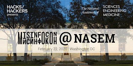 MisinfoCon@NASEM tickets