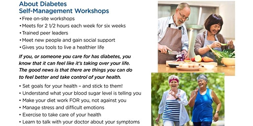 Free Diabetes Self-Management Workshop