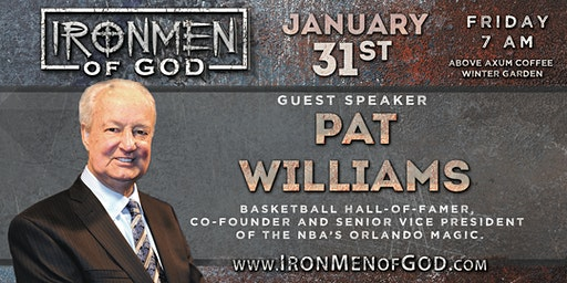 IronMen of God January 2020 Coffee