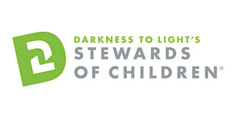 Darkness to Light: Stewards of Children Free Training tickets