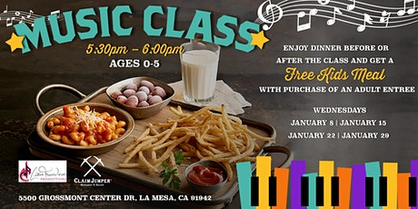 FREE Music Class for Kids! tickets