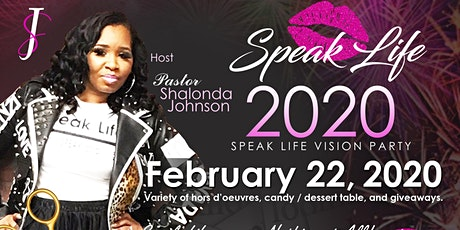 Speak Life Vision Board Party tickets