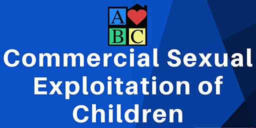 Commercial Sexual Exploitation of Children Training