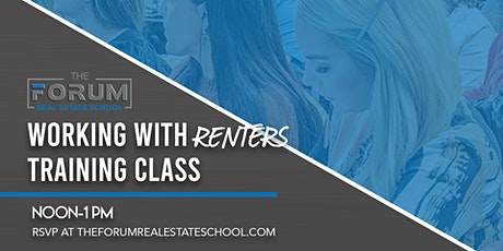 Working With Renters Training Class tickets