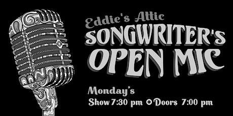 Eddie's Attic Songwriter's Open Mic tickets