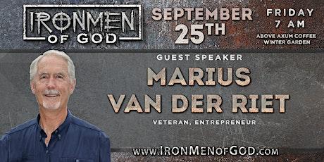 IronMen of God September 2020 Coffee tickets