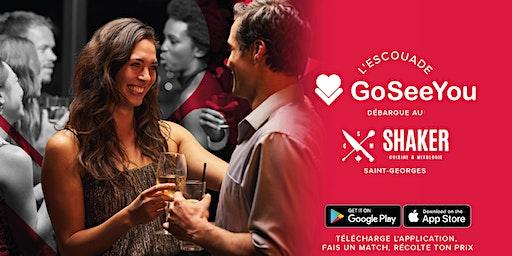 Escouade GoSeeYou au Shaker Saint-Georges pour la St-Valentin