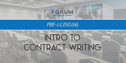 Intro to Contract Writing