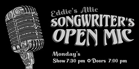 Eddie's Attic Songwriter's Open Mic tickets