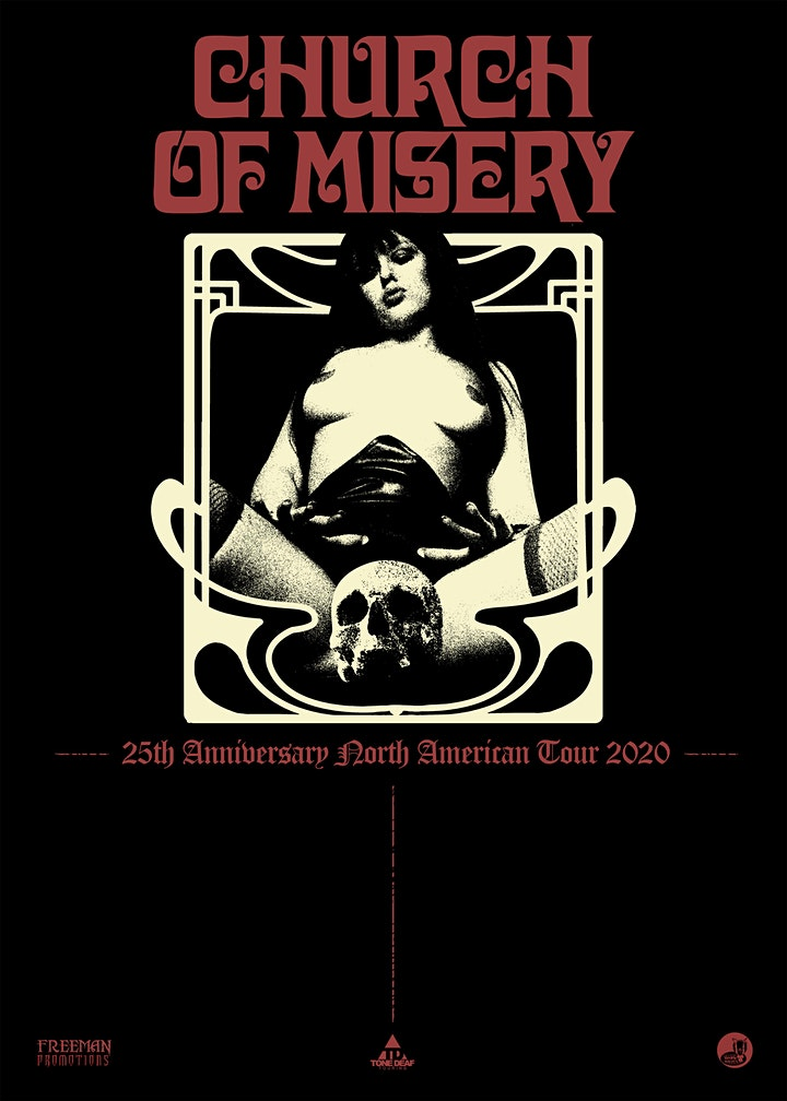 Church of Misery 25th Anniversary Tour image