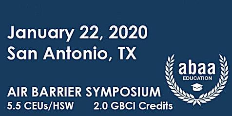 Air Barrier Symposium