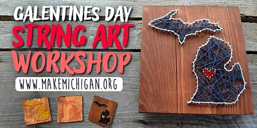 Galentines Day String Art Workshop