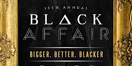 15th Annual All Black Affair tickets