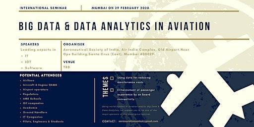 International Seminar on BIG DATA & DATA ANALYTICS IN AVIATION