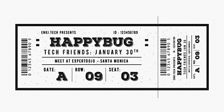 #happybug - the gathering of tech people tickets